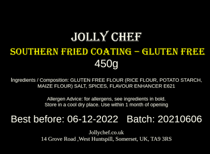 Gluten Free Southern Fried Chicken Coating